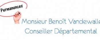 Permanence Monsieur Benoît Vandewalle
